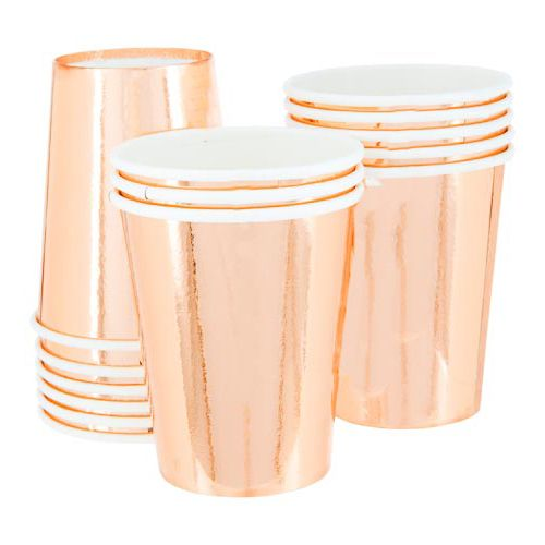 Metallic Cups
