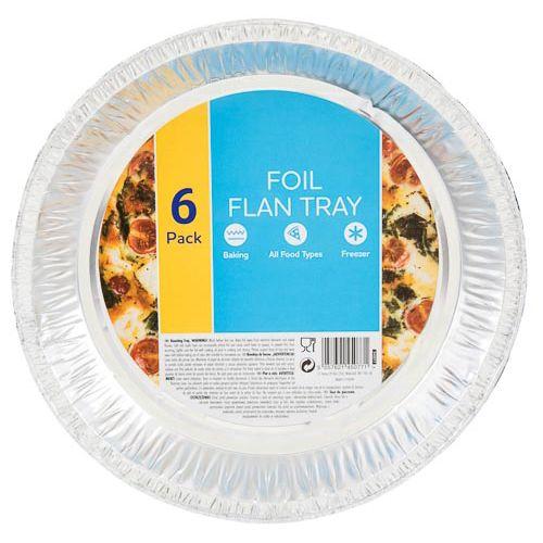Round Foil Tray 6pk