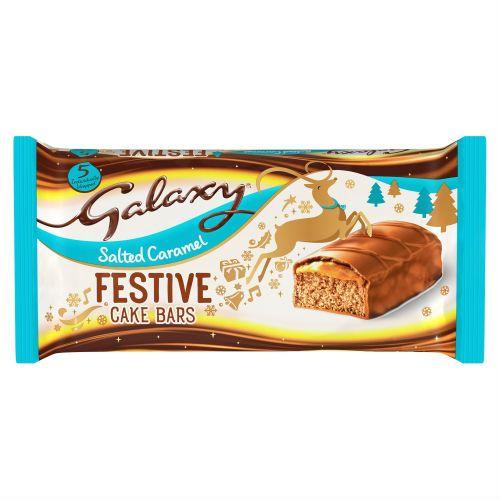 Galay Salted Caramel Cake Bar 5pk