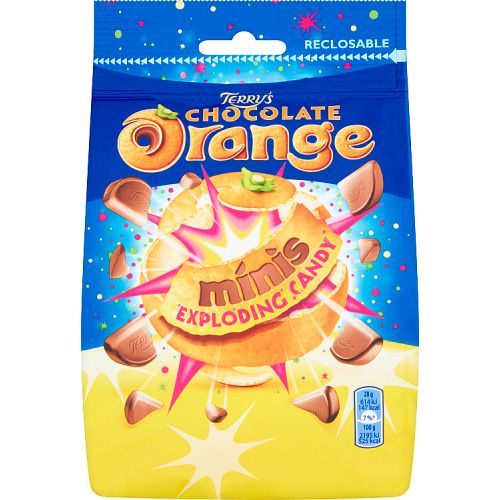 TERRYS CHOCOLATE ORANGE MINI EXPLODING CANDY