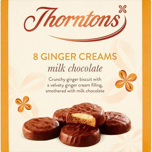 Thorntons Milk Chocolate Ginger Creams 128g