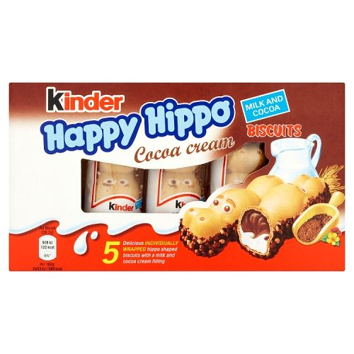 Kinder Cocoa Happy Hippos 5x20.6g