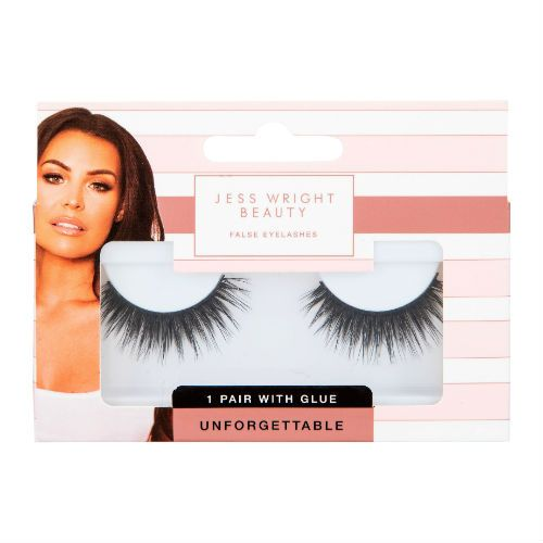 JESS WRIGHT 3D LASHES WITH GLUE