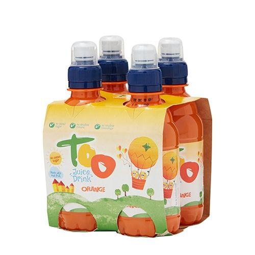 Too Orange Juice Drink 250ml 4 Pack