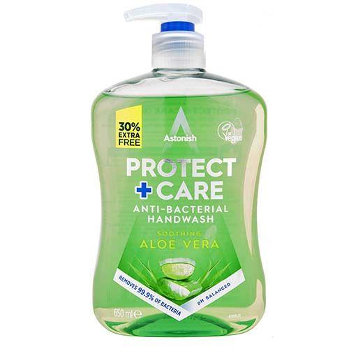 Protect & Care Antibac Handwash Aloe Vera 650ml