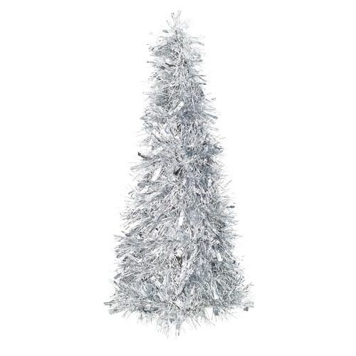 Silver Tinsel Tree