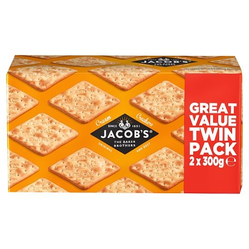 Jacobs Cream Crackers 2 Pack