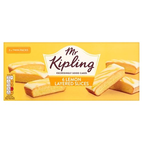 KIPLING LEMON SLICE 6PK