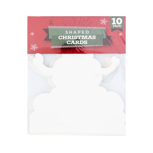 CHRISTMAS SHAPED CARDS