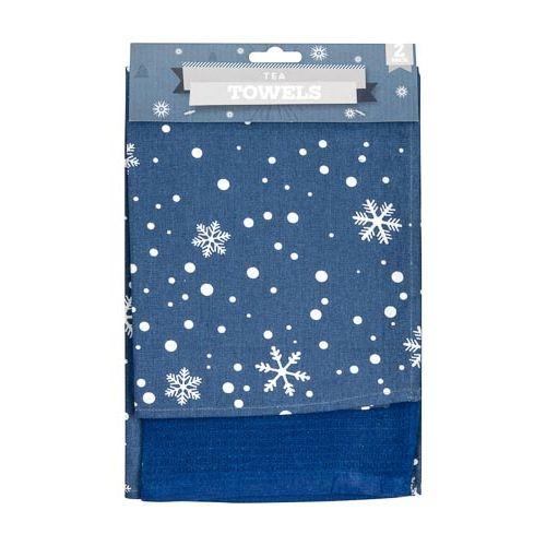 CHRISTMAS TEA TOWELS 2 PACK