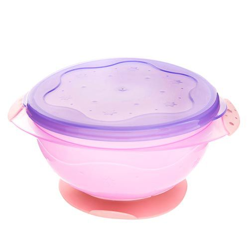 Baby Suction Bowl With Lid