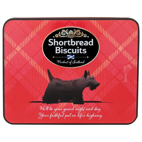 Shortbread Biscuits In Gift Tin 200g