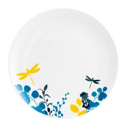 Woodland Floral Dinner Plate