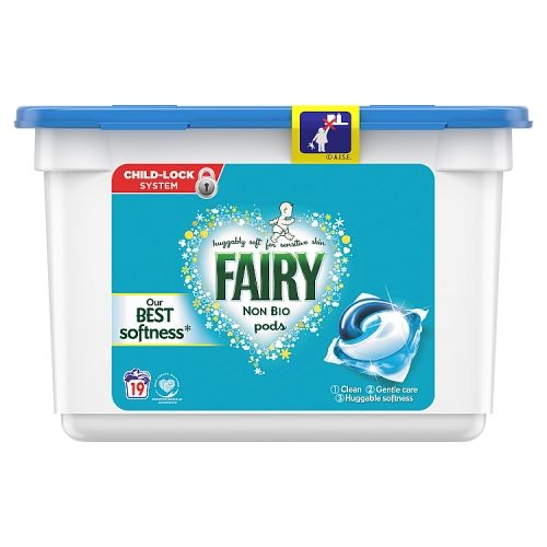 Fairy Non Bio Liquid Tablets 19w