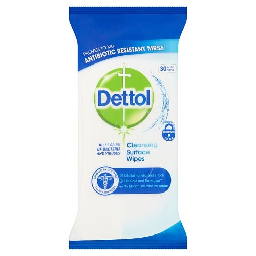 Dettol Surface Cleanser Wipes 30 Pack
