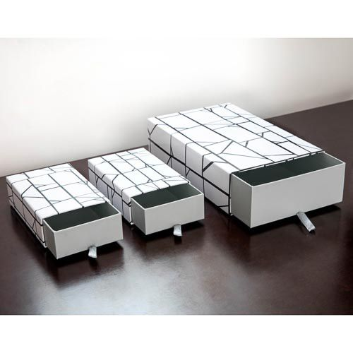 NESTED STORAGES BOXES 3 PACK