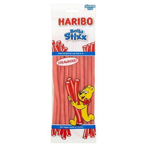 Haribo Balla Stixx Strawberry 160g