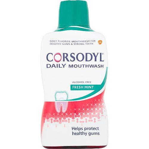 CORSODYL GUM CARE MOUTHWASH ALCOHOL FREE DAILY