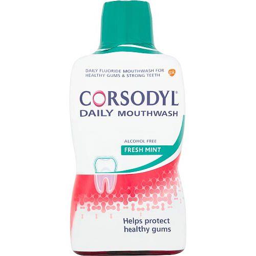 CORSODYL GUM CARE MOUTHWASH ALCOHOL FREE DAILY