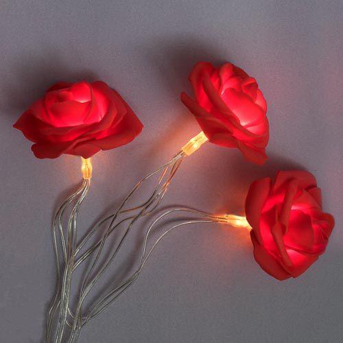 ROSE LIGHTS 8 PACK