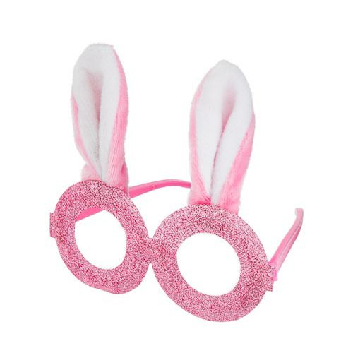 GLITTER BUNNY GLASSES