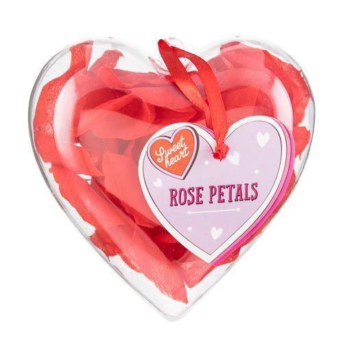 FABRIC ROSE PETALS