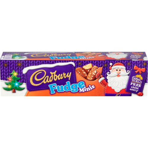 CADBURY FUDGE MINIS TUBE 72G