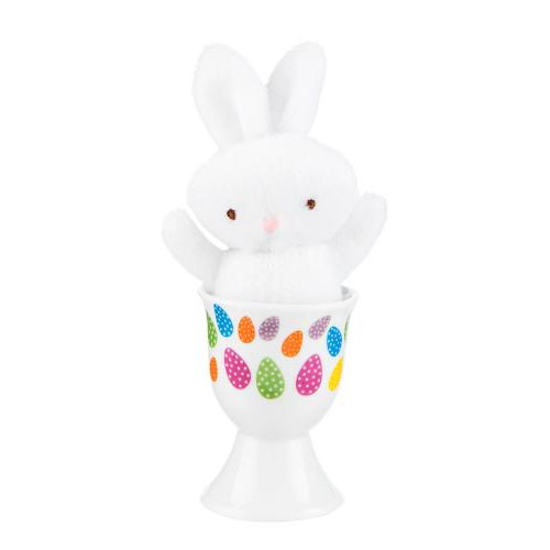 EASTER BUNNY IN EGG CUP