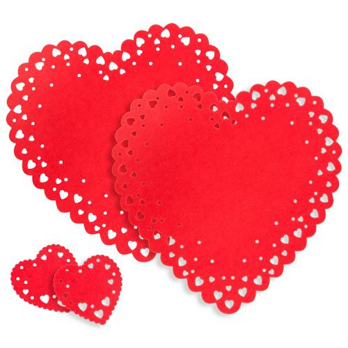 HEART SHAPED PLACEMAT