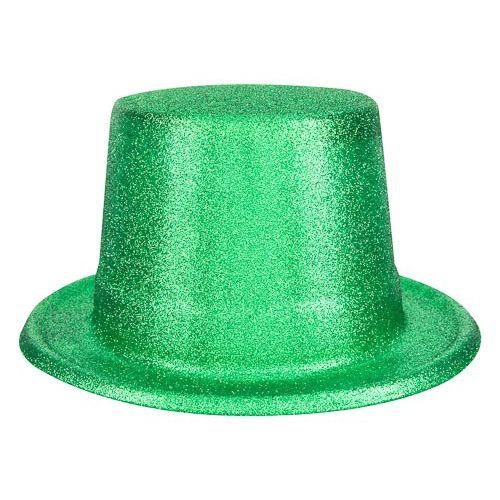 ST PATRICK GLITTER TOP HAT
