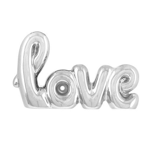 LOVE METALLIC ORNAMENT
