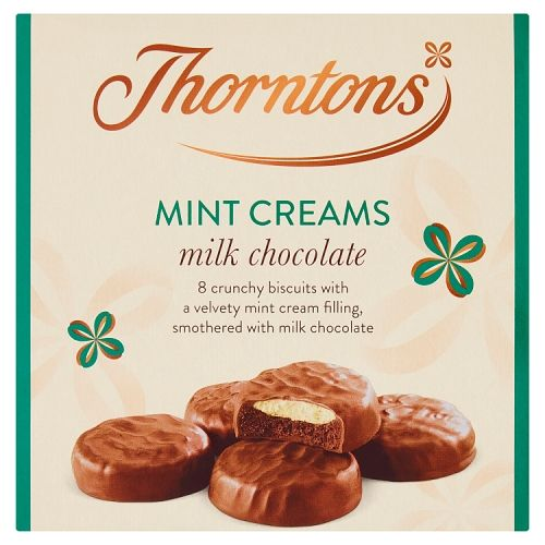 Thorntons Milk Chocolate Mint Creams 128g