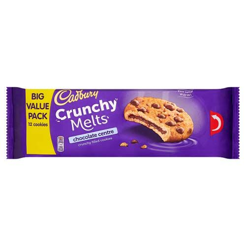 CADBURY CRUNCHY MELT CHOCOLATE 312G