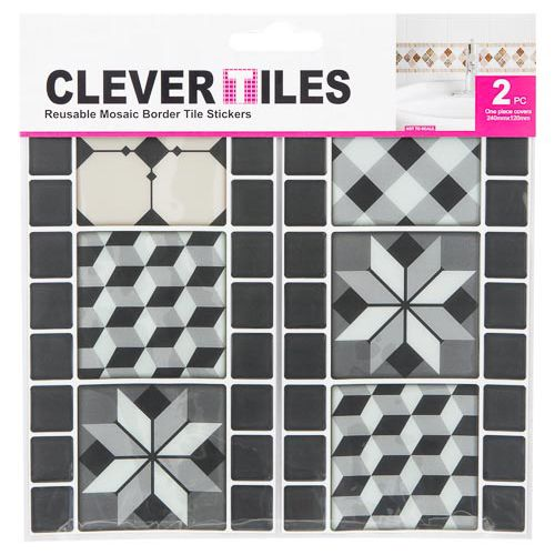 Mosaic Border Tile Sticker