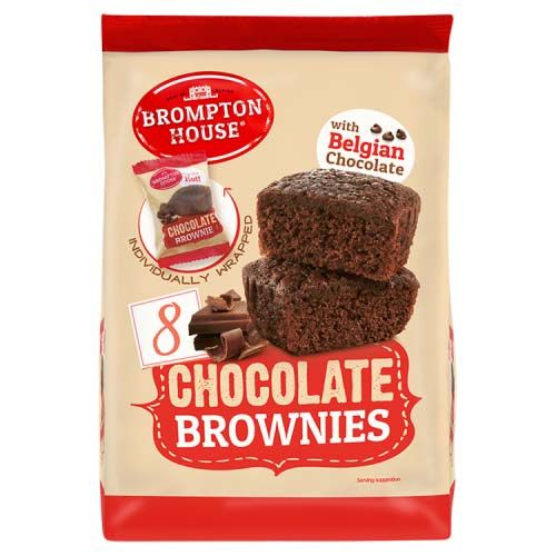 CHOCOLATE BROWNIES BAG 200G 8 PACK