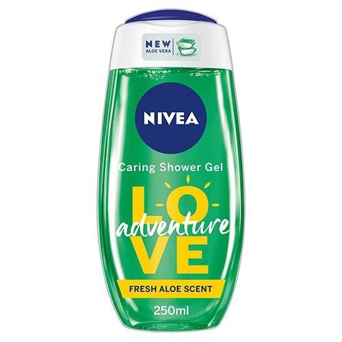 NIVEA SHOWER GEL LOVE ADVENTURE 250ML