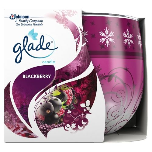 Glade Candle Blackberry 4oz