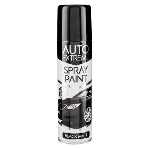 Spray Paint Matt Black 250ml