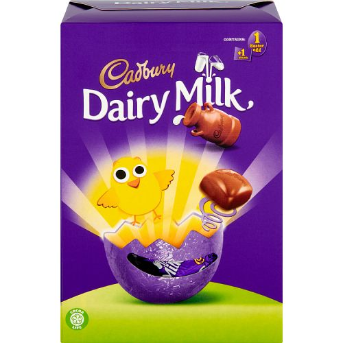 DAIRY MILK CHUNKS EGG 71G