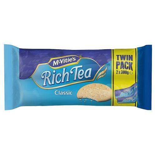 McVities Rich Tea Twin Pack 600g