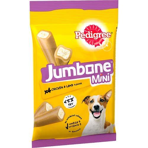 Pedigree Jumbo Small Dog Chicken & Lamb 4 Pack