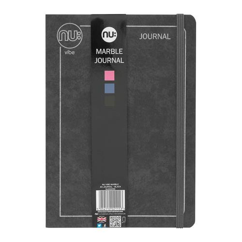Nu Vibe A5 Marble Journal