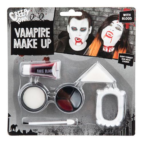 Vampire Make Up Kit With Blood