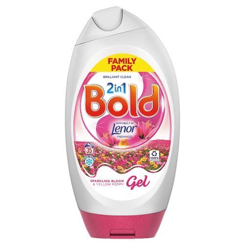 Bold 2in1 Gel Sparkling Bloom/yellow Poppy 1295ml