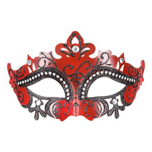 Red Masquerade Mask