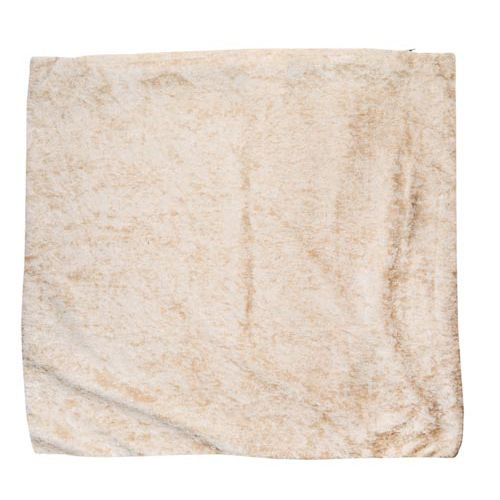 Beige Velvet Cushion Cover 190gsm 40x40cm