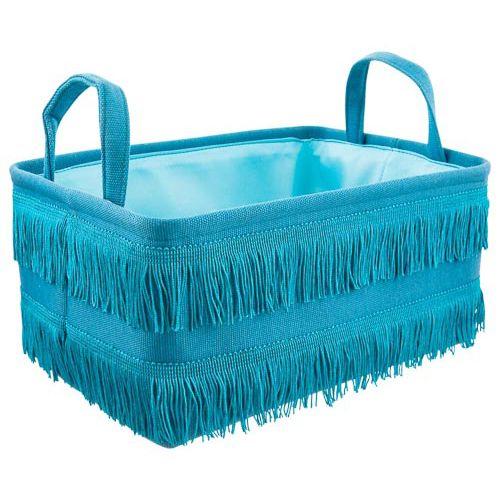 Tassle Storage Basket 32x22x15cm