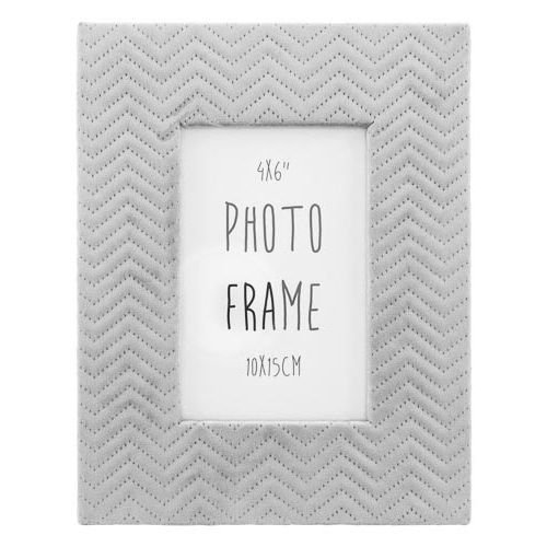 Suede Photo Frame 6x4""