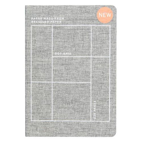 A5 Sustainable Notebook Grey