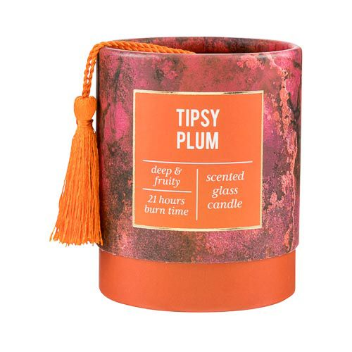 Scented Candle In Tubular Box With Tassle
